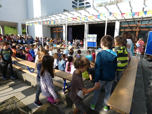 Schulanfangsfeier Klosterguet 2019